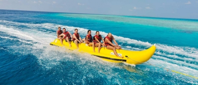 Water towable tubes–banana